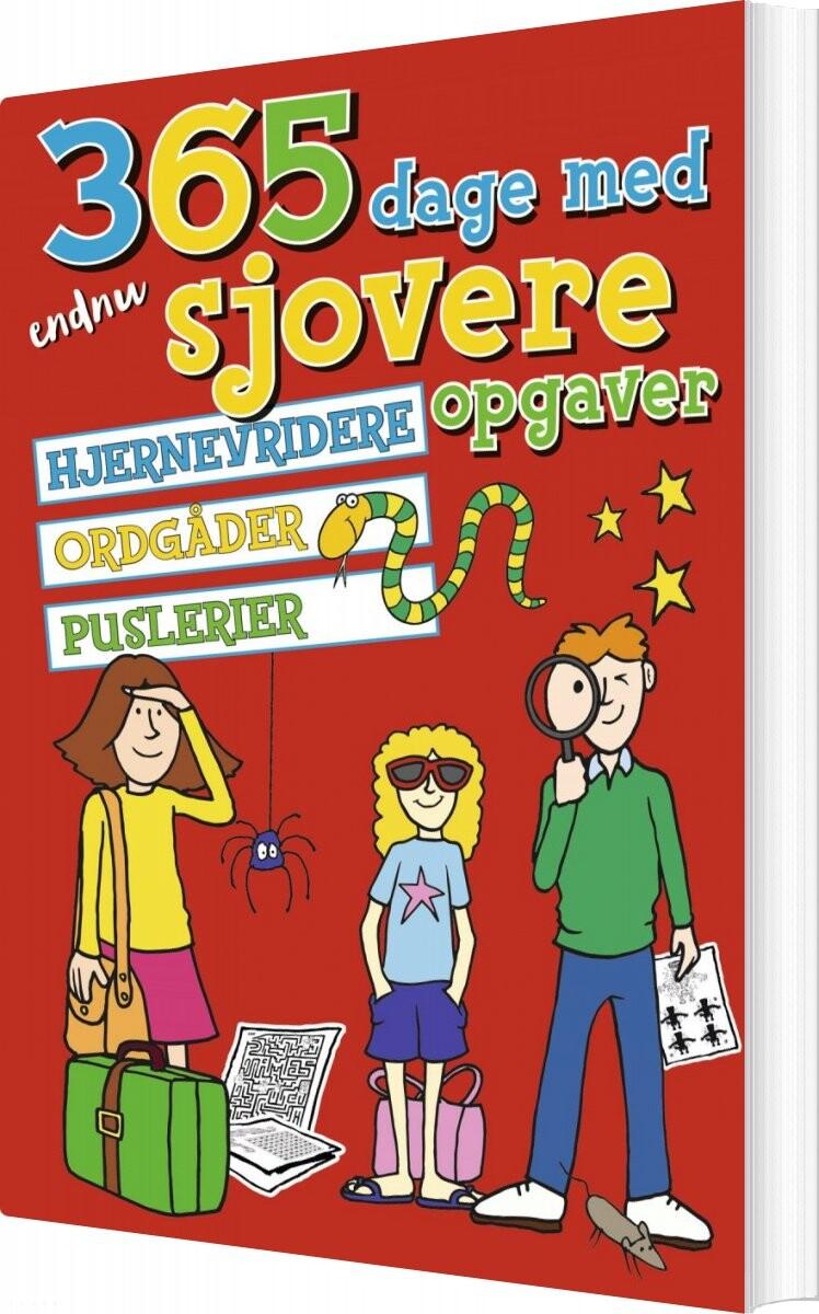 Image of   365 Dage Med Endnu Sjovere Opgaver - Diverse - Bog