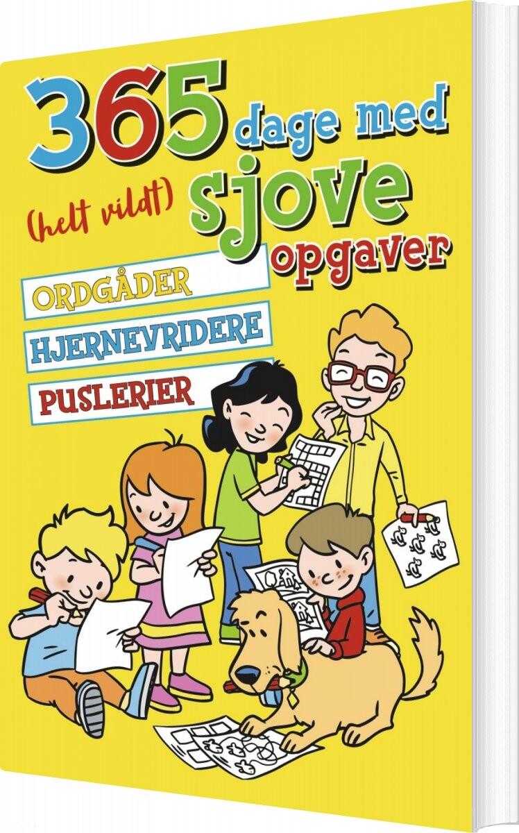 Image of   365 Dage Med Helt Vildt Sjove Opgaver - Diverse - Bog