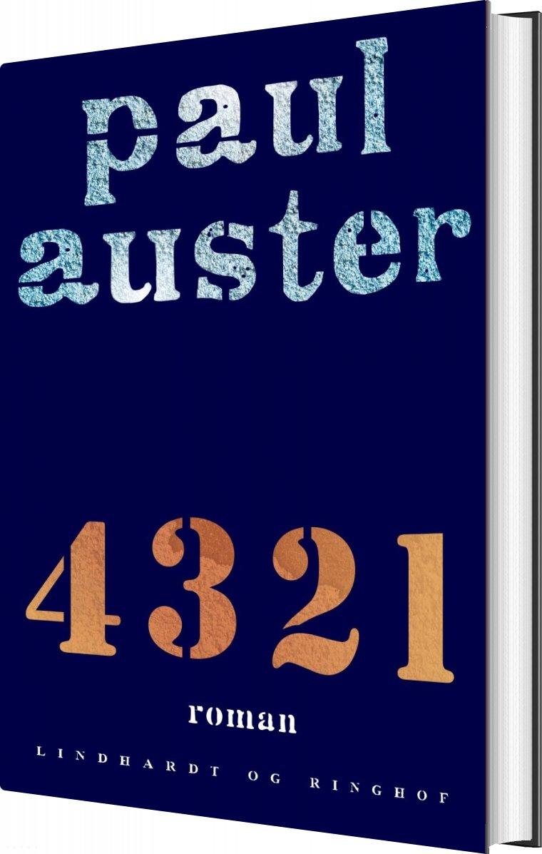 Image of   4 3 2 1 - Paul Auster - Bog