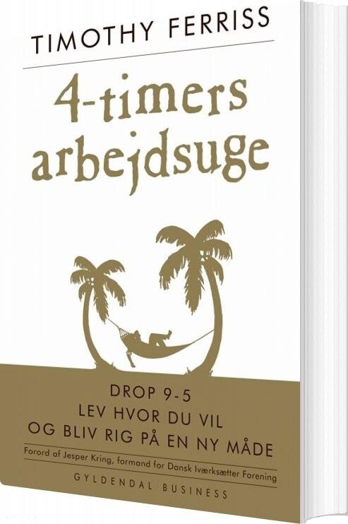 Image of   4-timers Arbejdsuge - Timothy Ferriss - Bog