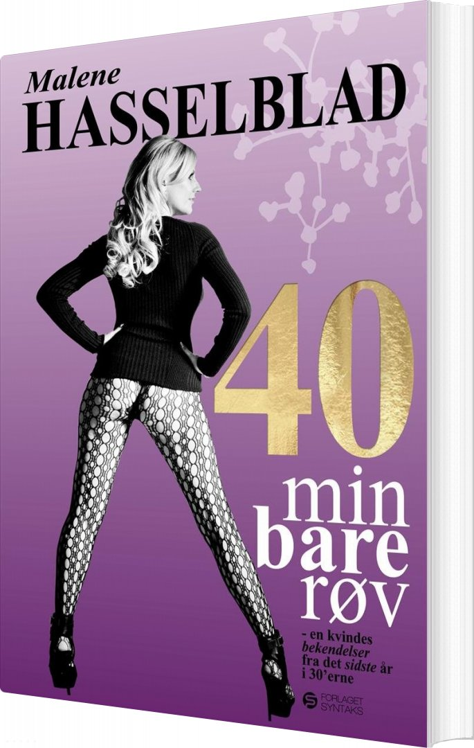 Billede af 40 Min Bare Røv - Malene Hasselblad - Bog