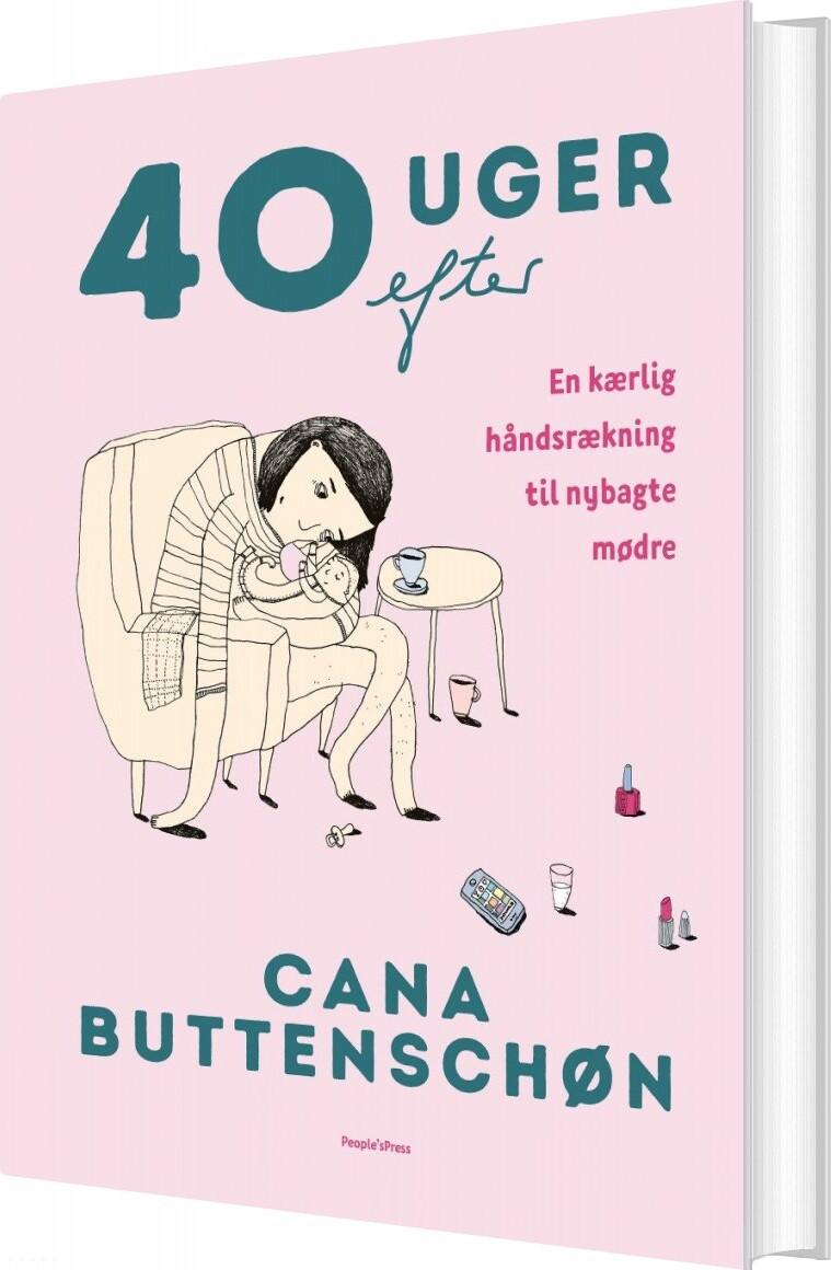 Image of   40 Uger Efter - Cana Buttenschøn - Bog