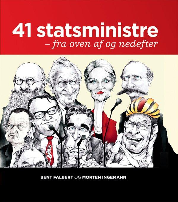 Image of   41 Statsministre - Morten Ingemann - Bog