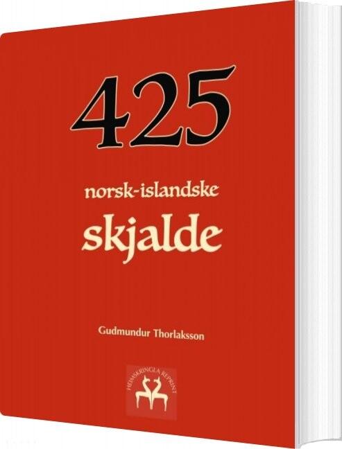 Image of   425 Norsk-islandske Skjalde - Gudmundur Thorlaksson - Bog