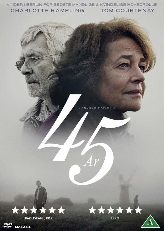 Image of   45 år / 45 Years - DVD - Film
