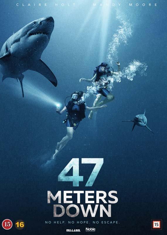 Image of   47 Meters Down - DVD - Film