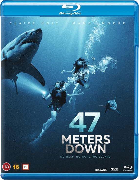 Image of   47 Meters Down - Blu-Ray