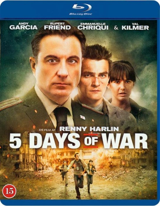 Image of   5 Days Of War - Blu-Ray