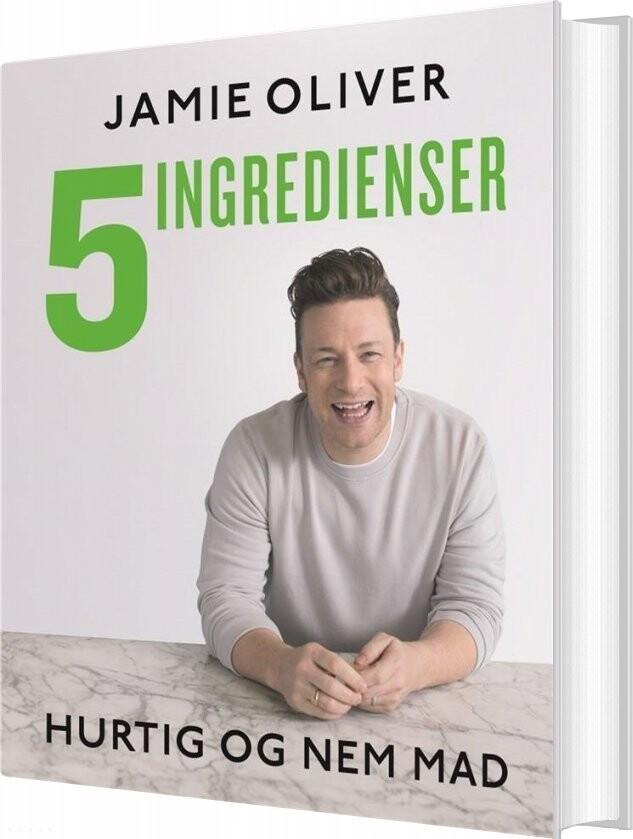Billede af 5 Ingredienser - Hurtig Og Nem Mad - Jamie Oliver - Bog