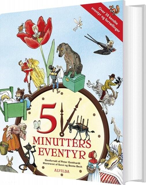 Image of   5 Minutters Eventyr - Peter Gotthardt - Bog