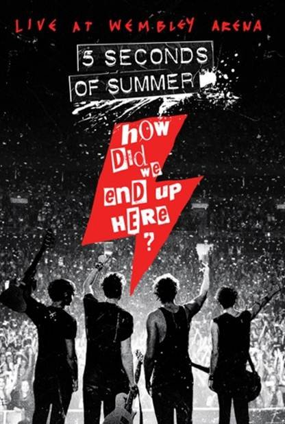 Image of   5 Seconds Of Summer - How Did We End Up Here - Live At Wembley Arena - DVD - Film