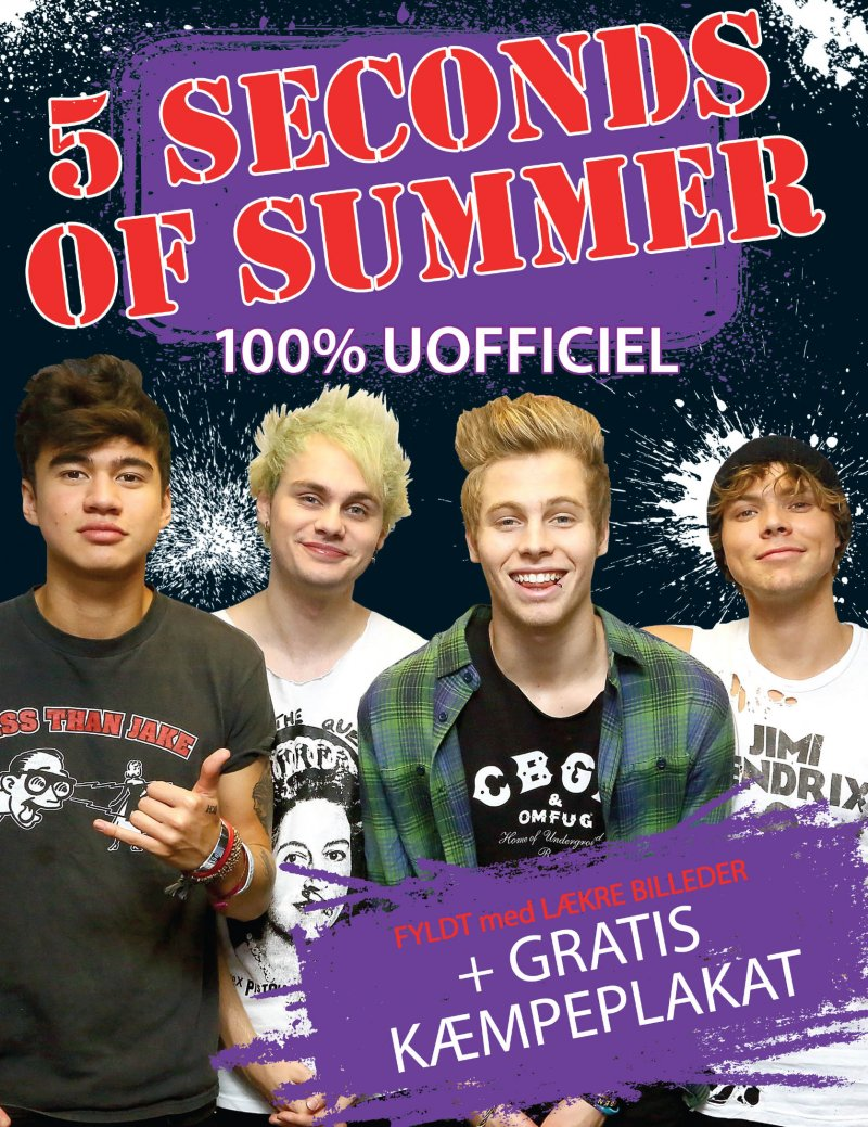 Image of   5 Seconds Of Summer Poster Bog - Imogen Williams - Bog