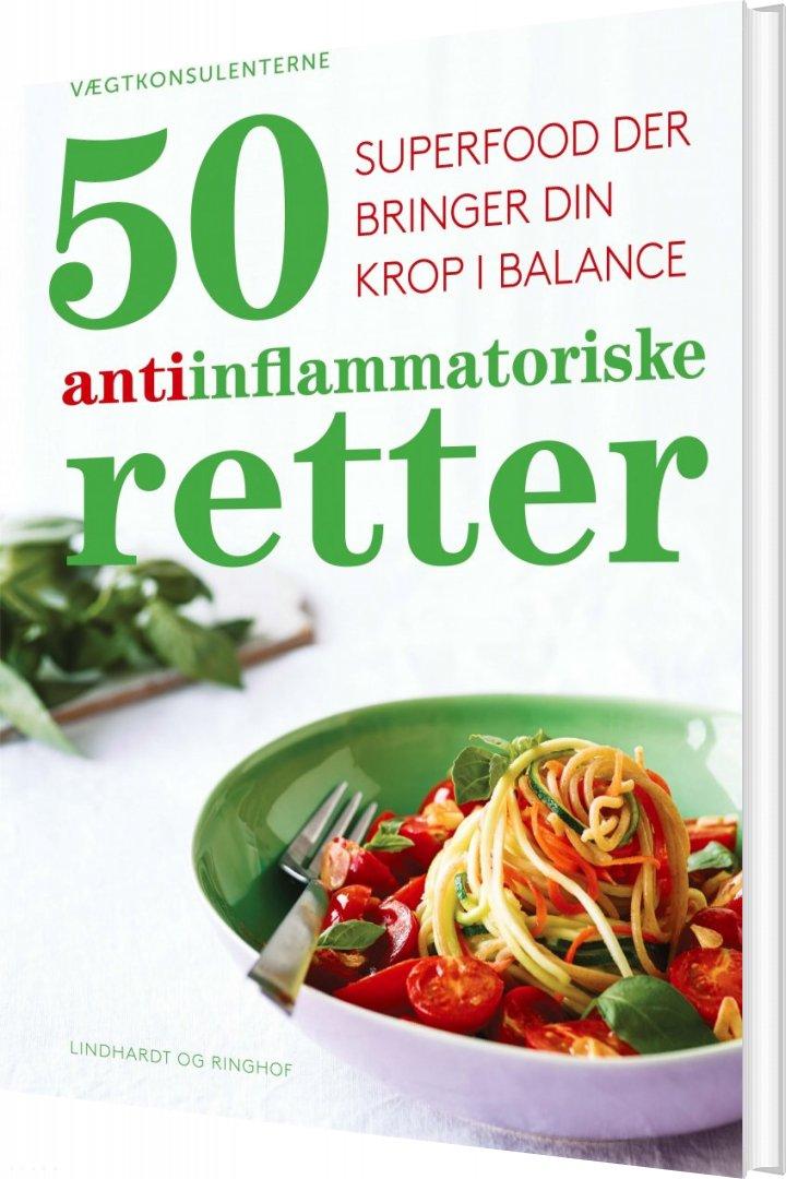 50 Nemme Antiinflammatoriske Retter - Vægtkonsulenterne - Bog