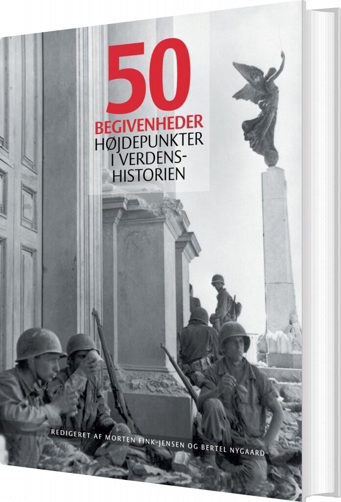 Image of   50 Begivenheder - Diverse - Bog