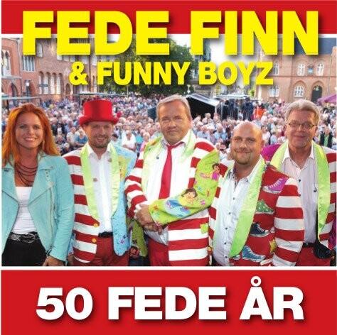 Image of   Fede Finn Og Funny Boyz - 50 Fede år - CD