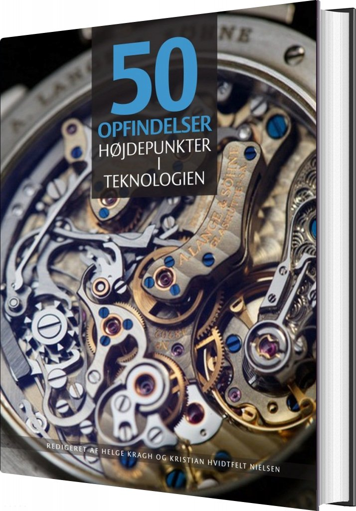 Image of   50 Opfindelser - Helge Kragh - Bog