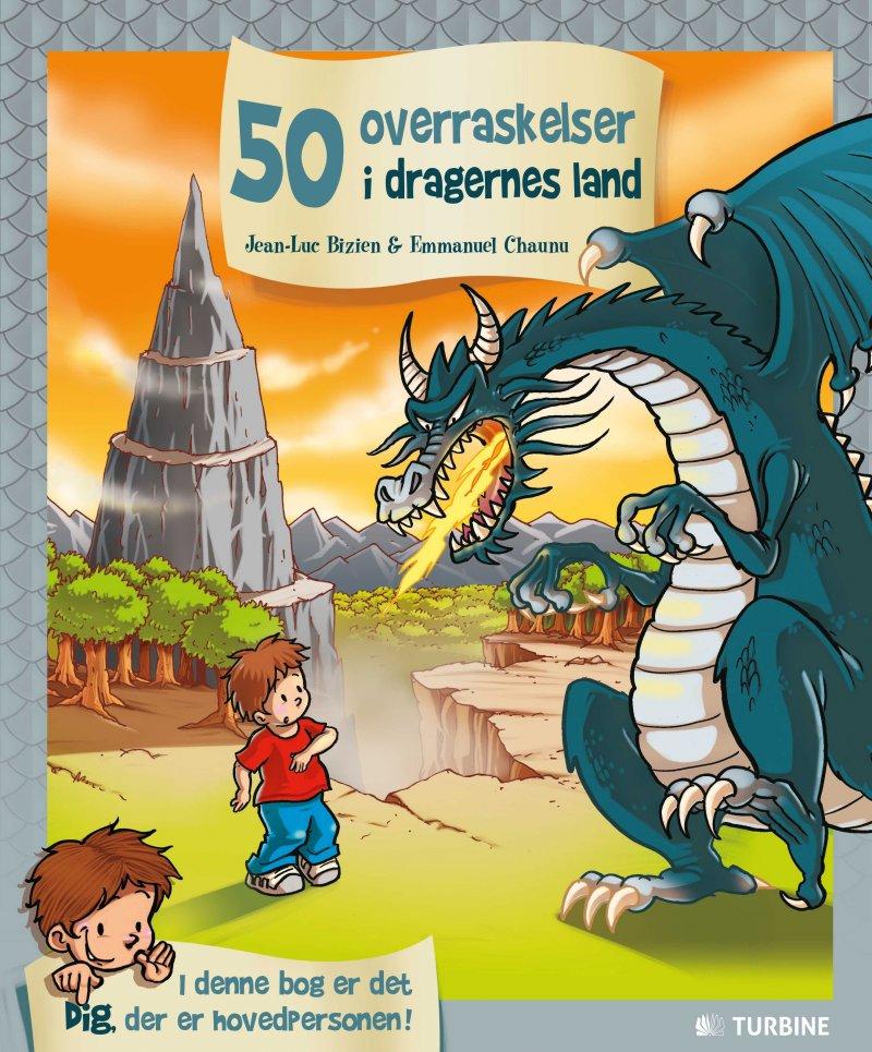 Image of   50 Overraskelser I Dragernes Land - Jean-luc Bizien - Bog