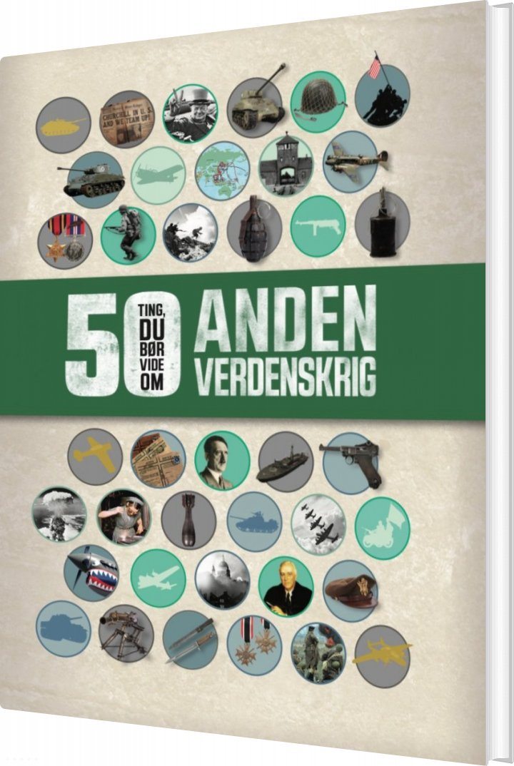 Image of   50 Ting, Du Bør Vide Om Anden Verdenskrig - Simon Adams - Bog