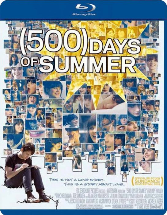 Image of   500 Days Of Summer - Blu-Ray
