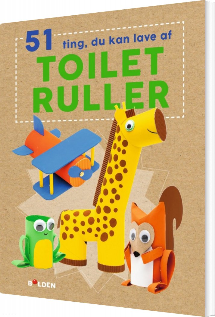 Image of   51 Ting Du Kan Lave Med Toiletruller - Fiona Hayes - Bog