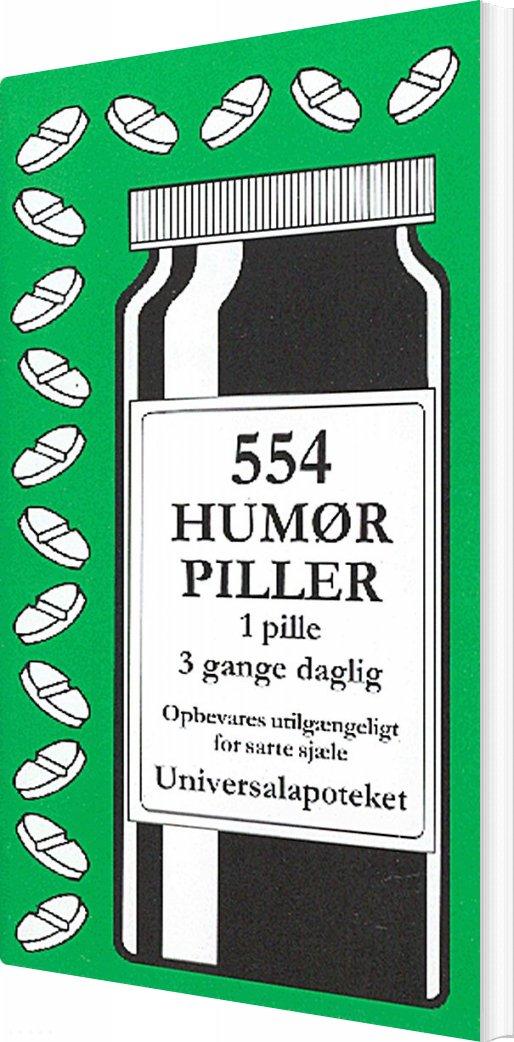 Image of   554 Humørpiller - Jacob Wisby - Bog