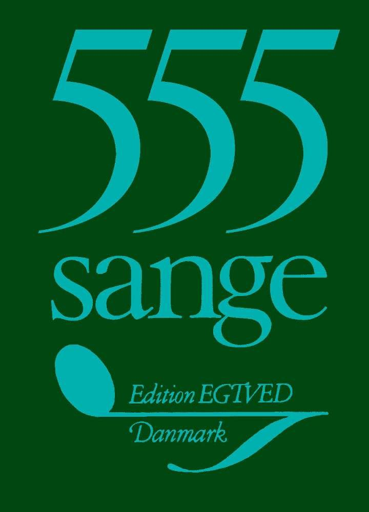 555 Sange - Bog