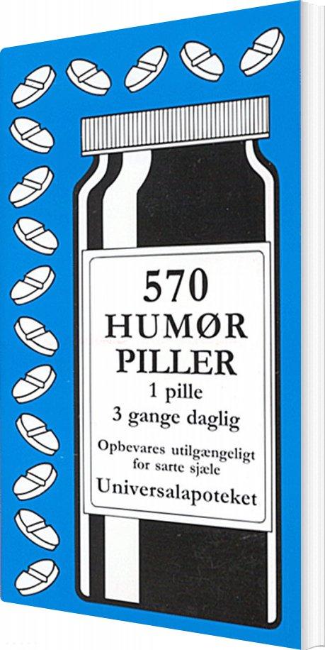 Image of   570 Humørpiller - Jacob Wisby - Bog
