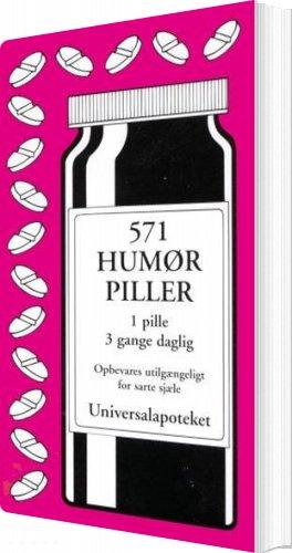 Image of   571 Humørpiller - Jacob Wisby - Bog