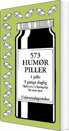 Image of   573 Humørpiller - Jacob Wisby - Bog