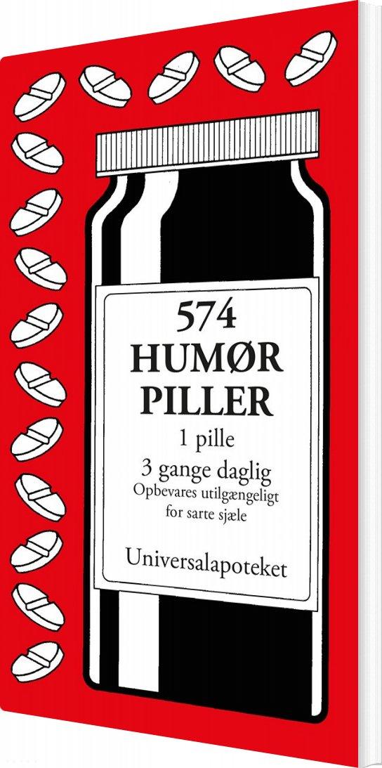 Image of   574 Humørpiller - Jacob Wisby - Bog