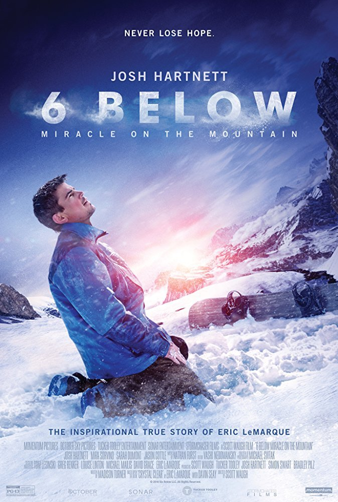 Image of   6 Below: Miracle On The Mountain - Blu-Ray