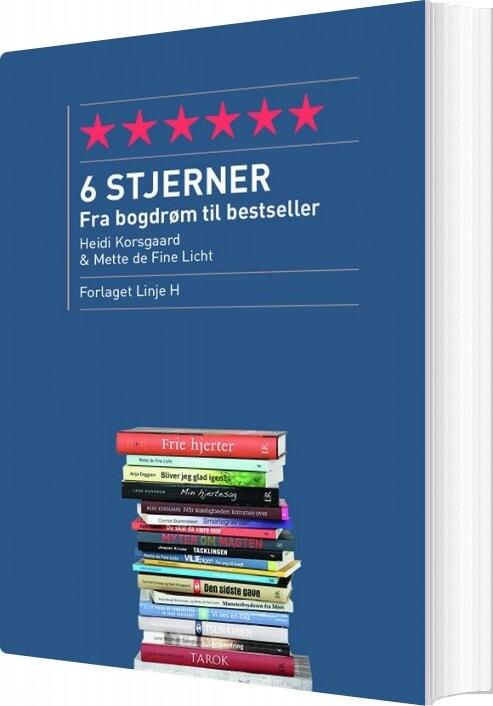Image of   6 Stjerner - Heidi Korsgaard - Bog