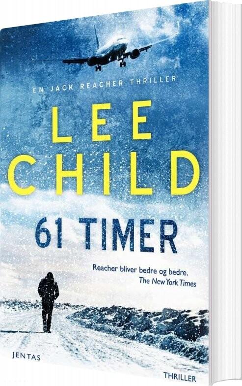 Image of   61 Timer - Lee Child - Bog