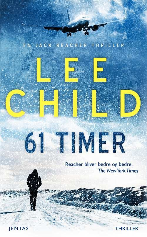 Image of   61 Timer - Mp3 - Lee Child - Cd Lydbog