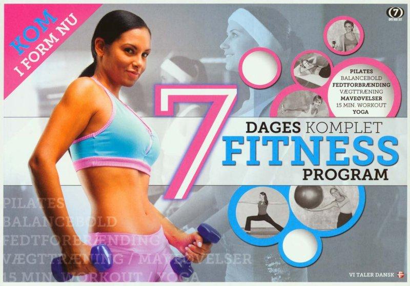 Billede af 7 Dages Komplet Fitness Program - DVD - Film