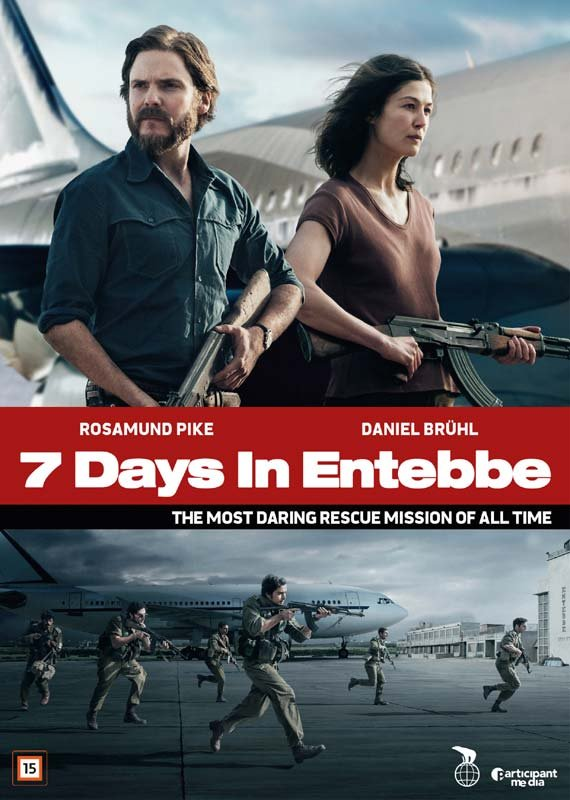 Image of   7 Days In Entebbe - DVD - Film