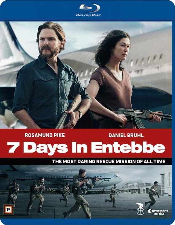Image of   7 Days In Entebbe - Blu-Ray