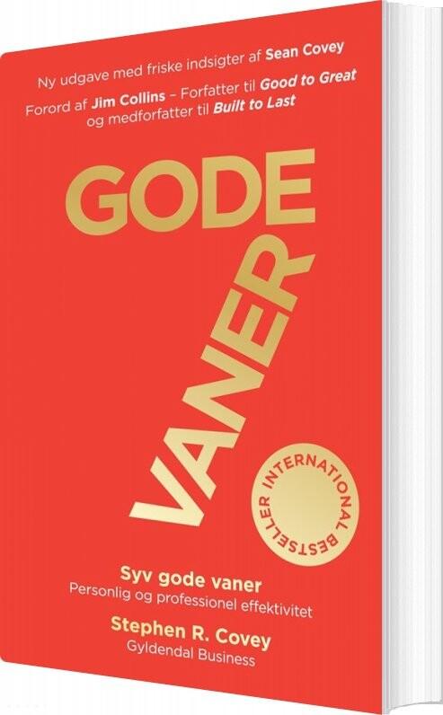 Image of   7 Gode Vaner - Jubilæumsudgave - Stephen R. Covey - Bog