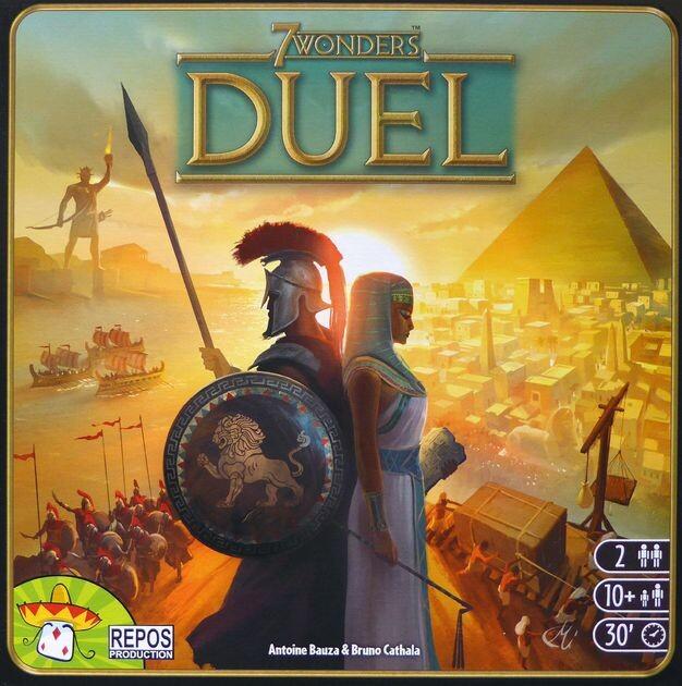 7 Wonders Duel - Brætspil - Nordic