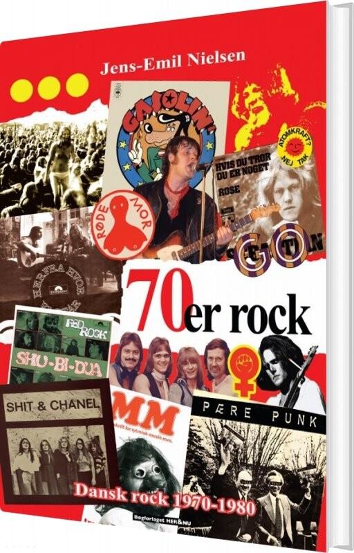 Image of   70´er Rock - Jens-emil Nielsen - Bog