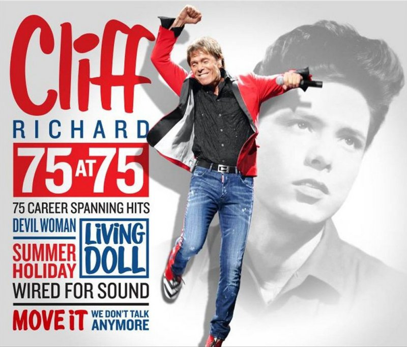 Image of   Cliff Richard - 75 At 75 - 75 Career Spanning Hits - CD