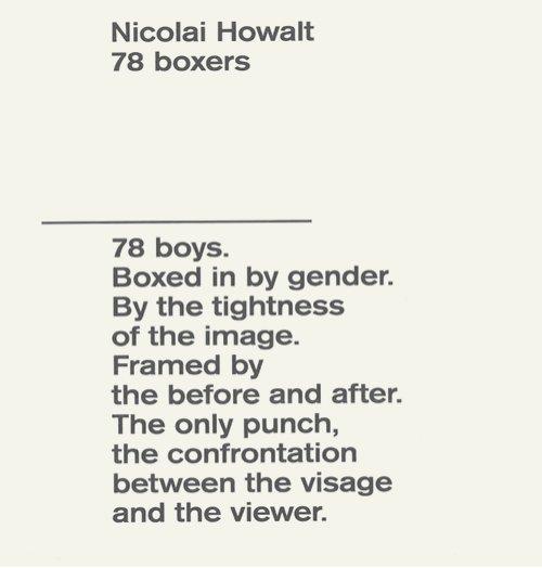 Image of   78 Boxers - Nicolai Howalt - Bog