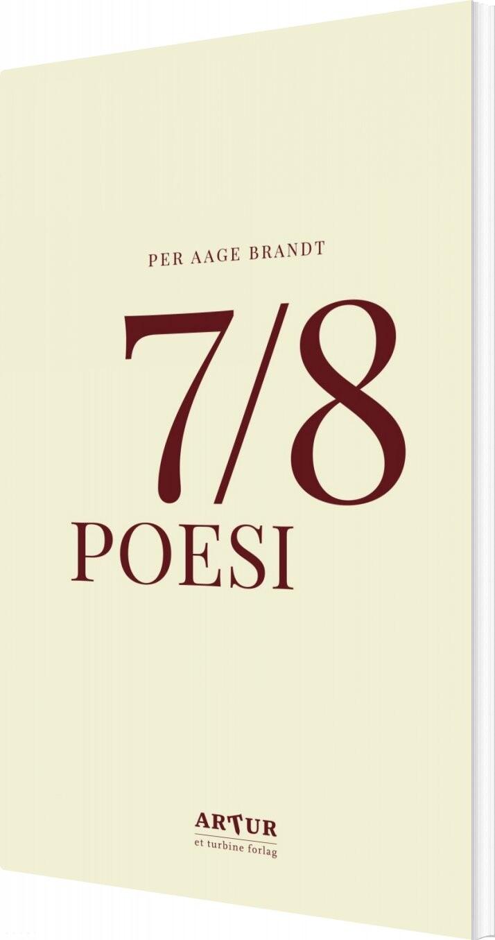 Billede af 7/8 Poesi - Per Aage Brandt - Bog