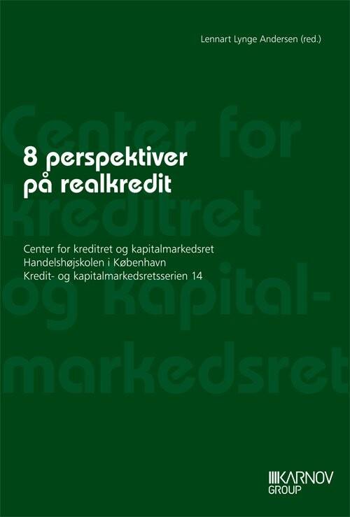 Image of   8 Perspektiver På Realkredit - Lennart Lynge Andersen - Bog