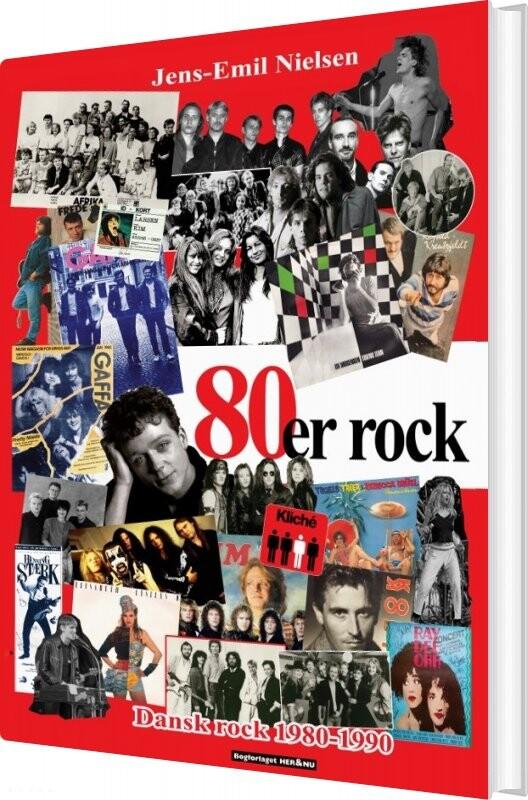 Image of   80´er Rock - Jens-emil Nielsen - Bog