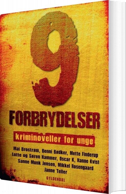 Image of   9 Forbrydelser - Mai Brostrøm - Bog