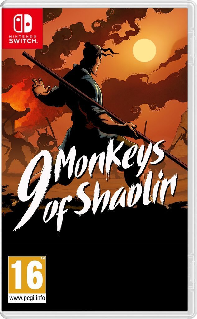 Image of   9 Monkeys Of Shaolin - Nintendo Switch