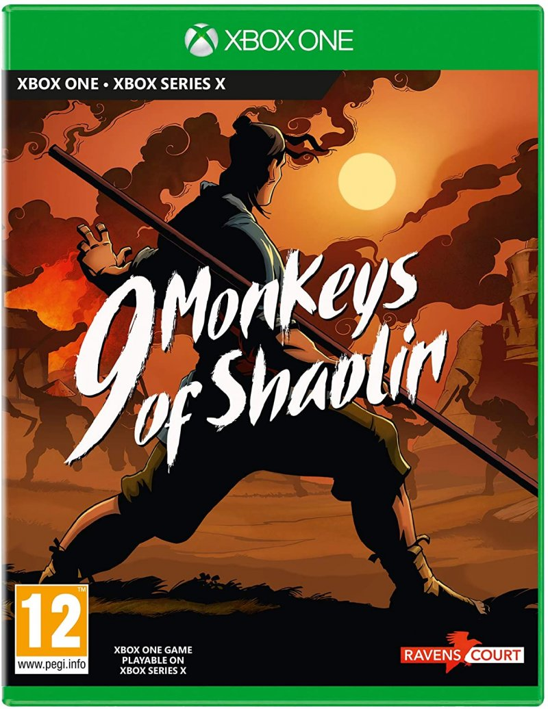 Image of   9 Monkeys Of Shaolin - Xbox One