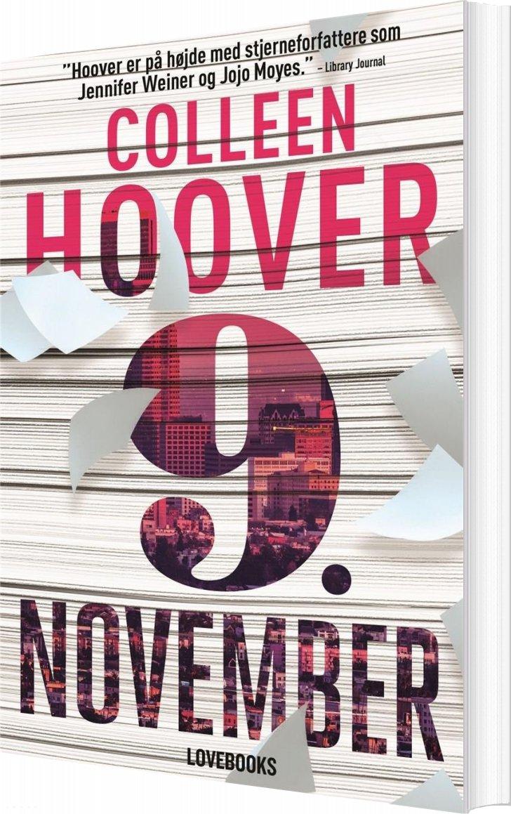 9. November - Colleen Hoover - Bog