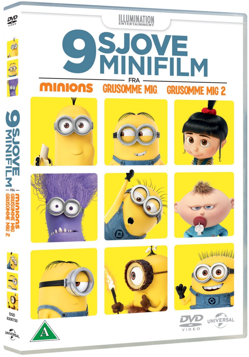 Image of   9 Sjove Minifilm - Minions, Grusomme Mig Og Grusomme Mig 2 - DVD - Film